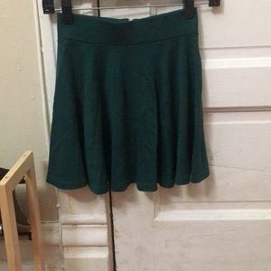 Green Mini-Skirt